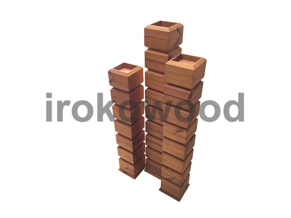 محصولات ترمووود - فروشگاه ایروکو... جای شمعی ترمووود DI